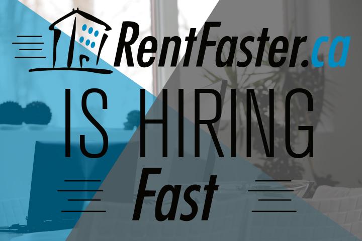 RentFaster is hiring