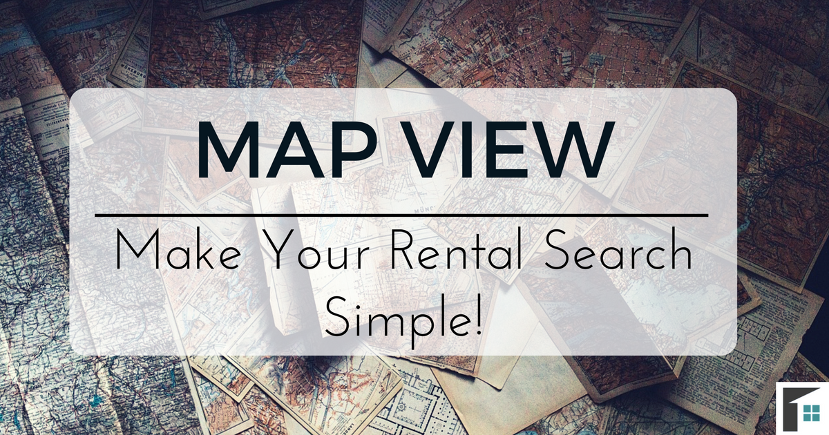 Map View – Make Your Rental Search Simple