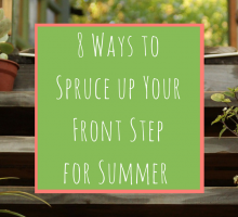 8 Ways to Spruce up Your Front Step for Summer