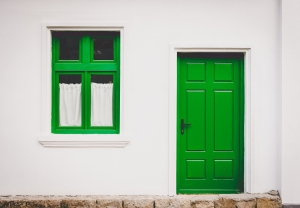 Color Your Door - Spruce Up Your Front Step for Summer