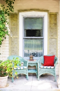 Patio Furniture - Spruce up your Front Step for Summer