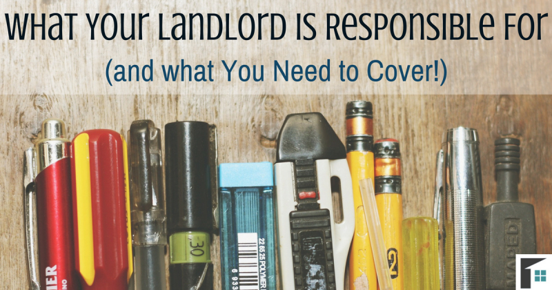 What Your Landlord is Responsible For (and what You Need to Cover!)