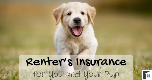 Renter's Insurance for You and Your Pup