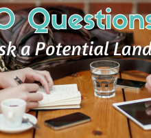 10 Questions to Ask a Potential Landlord