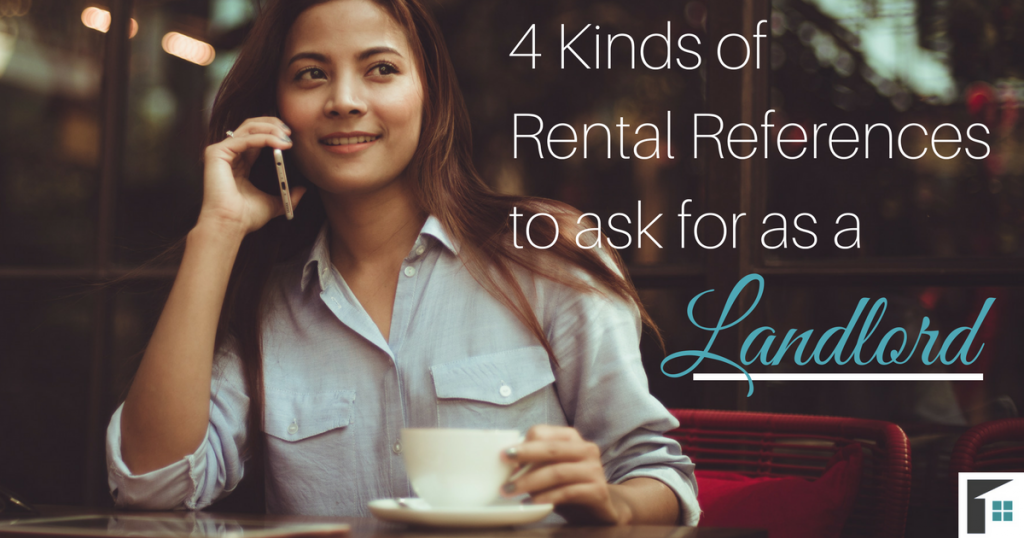 4 Kinds of References to Ask for as a Landlord