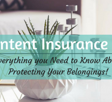 Content Insurance 101: Everything you Need to Know About Protecting Your Belongings