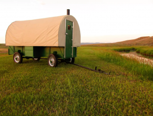 Heward's Fully Restored 1920's Sheep Wagon - Airbnb Rentals