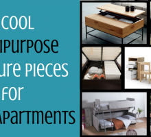 7 Cool Multipurpose Furniture Pieces for Small Apartments