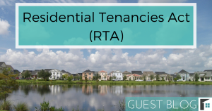 Residential Tenancies Act (RTA)