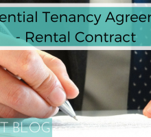 Residential Tenancy Agreements – Rental Contract