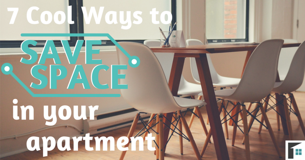 7 Cool Ways to Save Space in Your Apartment