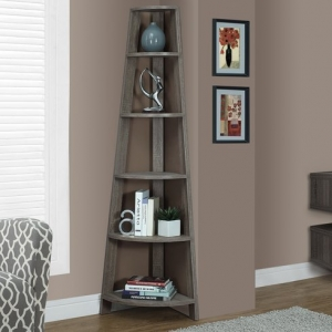Save Space in Your Apartment - Corner Bookshelves