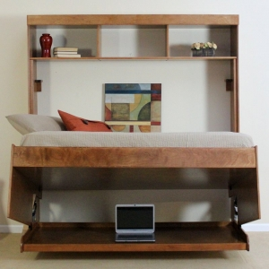 Save Space in Your Apartment - MultiPurpose Furniture - Murphy Bed