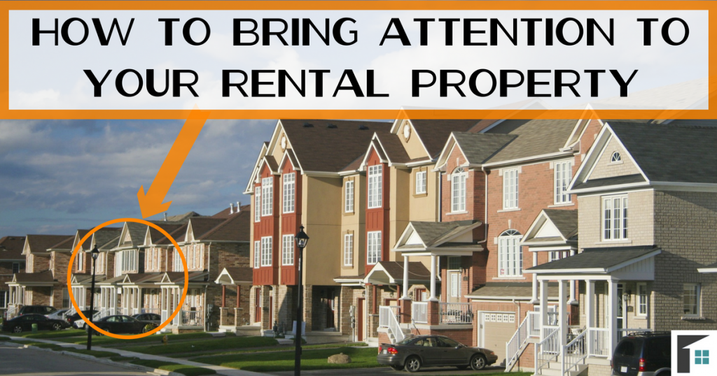 How to Bring Attention to Your Rental Property Image