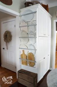 Kitchen Shelves - Small Kitchen