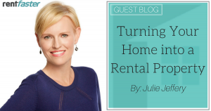 Turning Your Home into a Rental Property