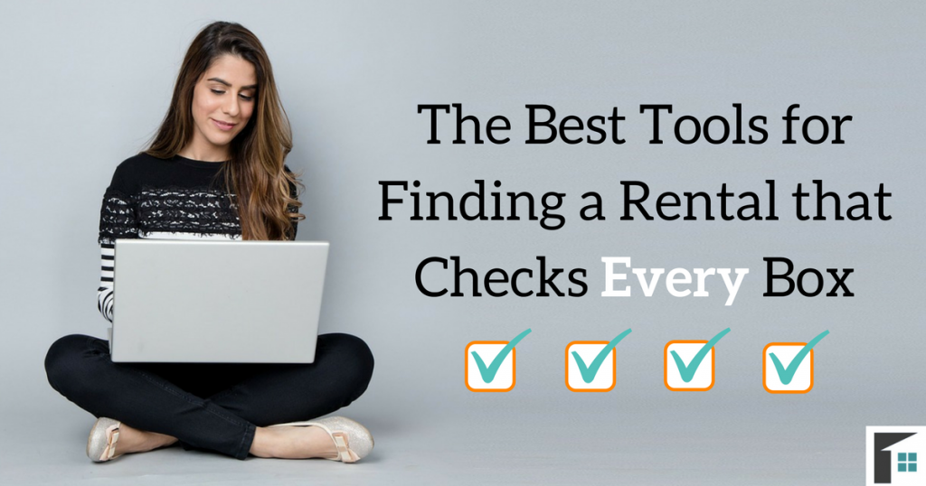 Best tools for finding a rental Image