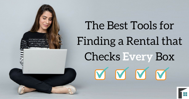 The Best Tools for Finding a Rental that Checks Every Box