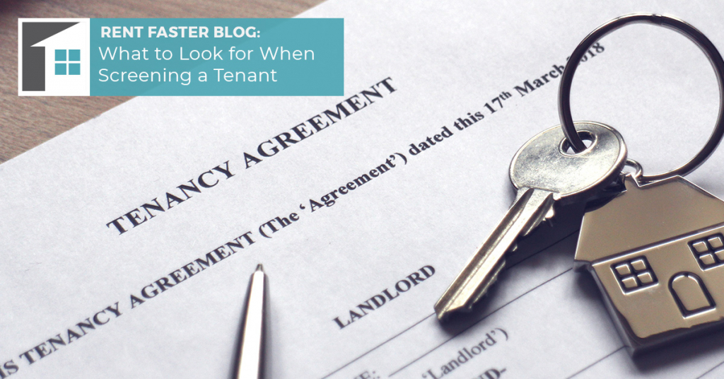 What to Look for When Screening a Tenant